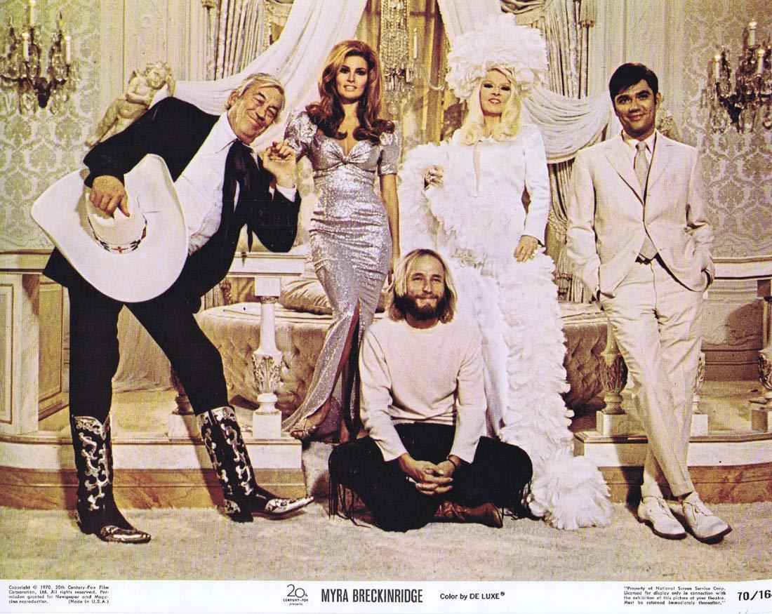 MYRA BRECKINRIDGE Lobby Card 6 Raquel Welch Mae West
