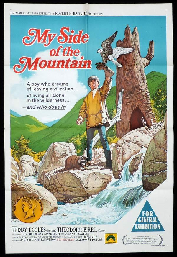 MY SIDE OF THE MOUNTAIN One Sheet Movie Poster Teddy Eccles
