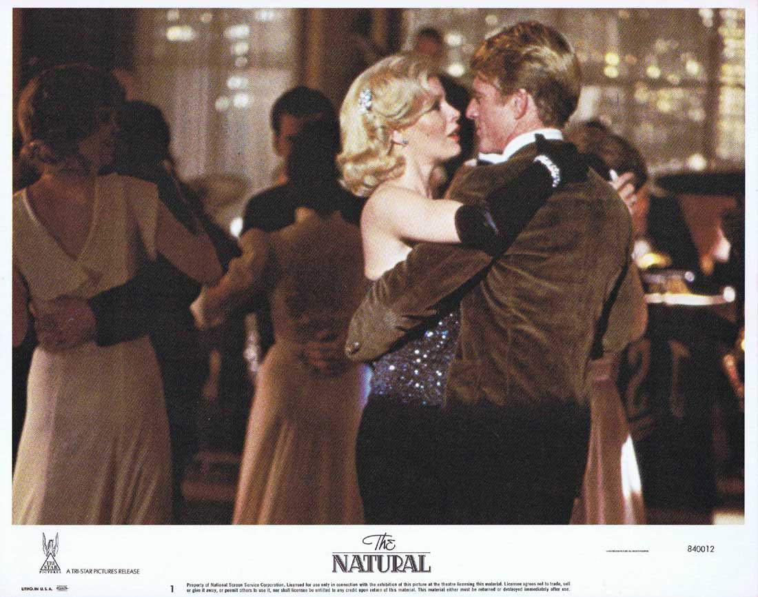 THE NATURAL Lobby Card 1 Robert Redford Glenn Close Robert Duvall.Baseball