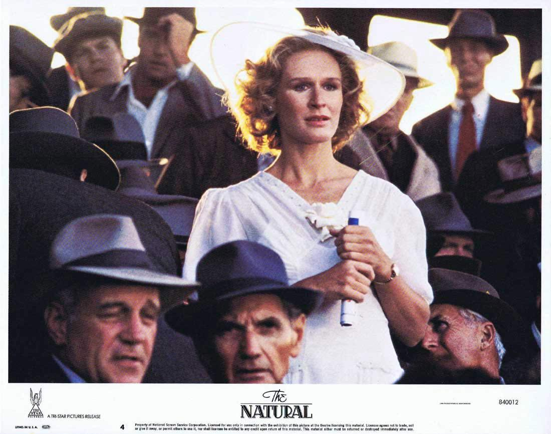 THE NATURAL Lobby Card 4 Robert Redford Glenn Close Robert Duvall.Baseball