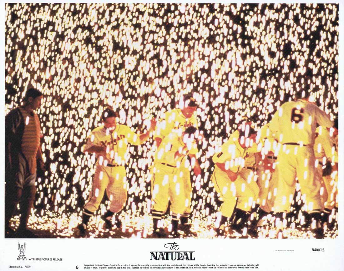 THE NATURAL Lobby Card 6 Robert Redford Glenn Close Robert Duvall.Baseball