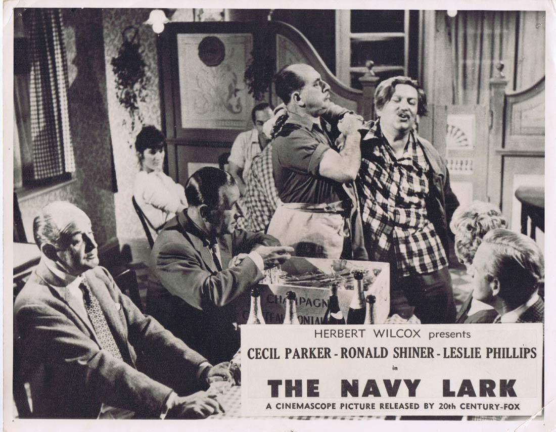 THE NAVY LARK Vintage Australian Lobby Card  Cecil Parker Ronald Shiner Leslie Phillips