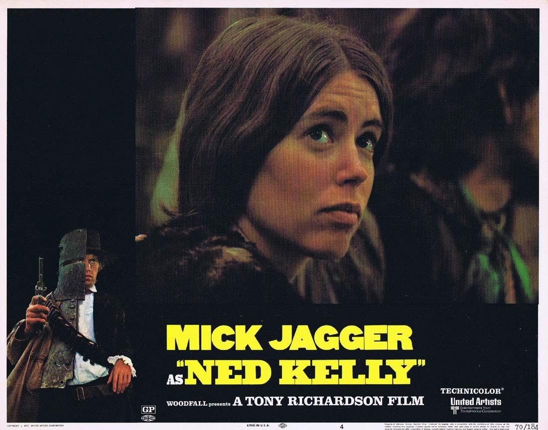 NED KELLY 1970 Mick Jagger Vintage US Lobby Card 4