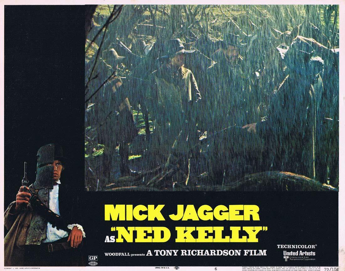 NED KELLY 1970 Mick Jagger Vintage US Lobby Card 6