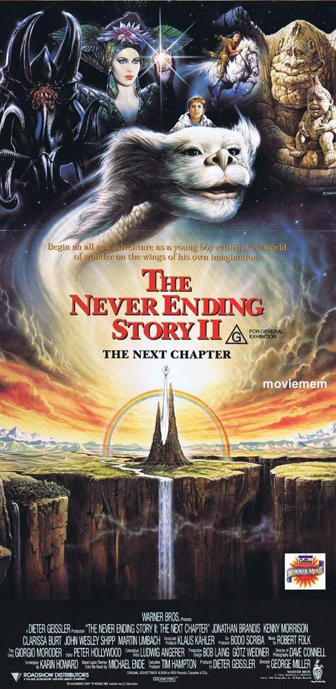NEVER ENDING STORY II Original daybill Movie poster George Miller