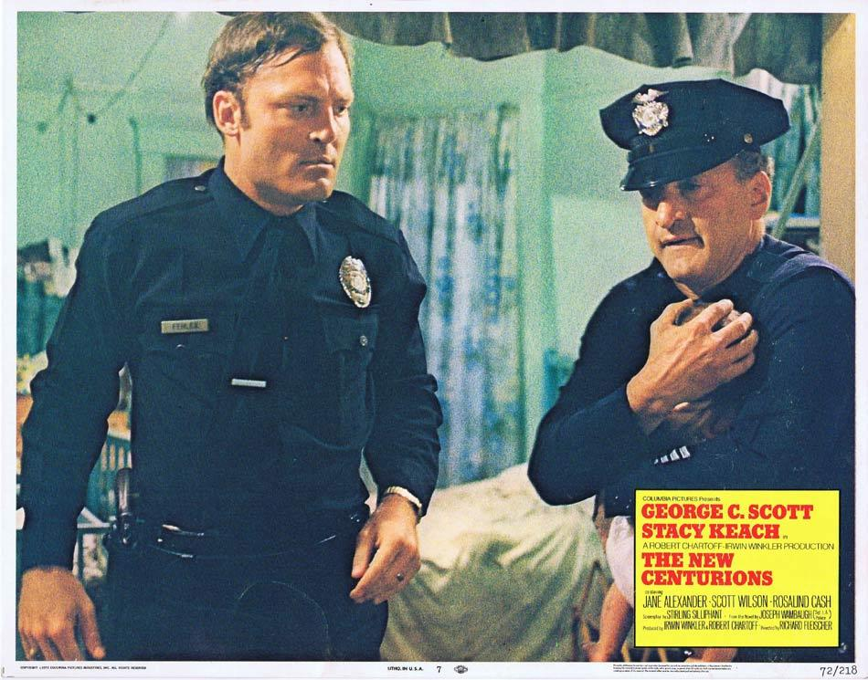 THE NEW CENTURIONS Lobby Card 7 George C. Scott Stacey Keach Jane Alexander