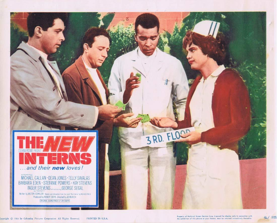 THE NEW INTERNS Lobby Card 2 Michael Callan Dean JOnes