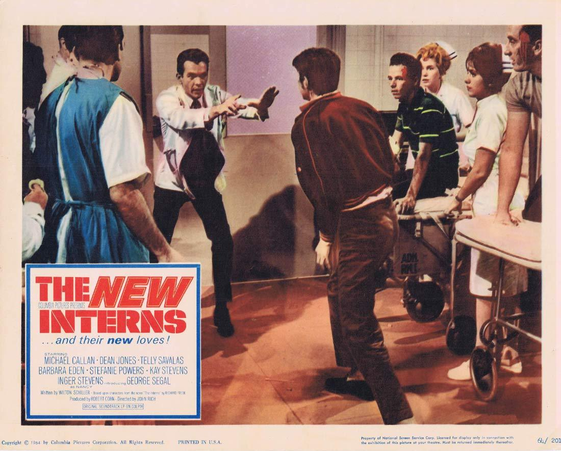 THE NEW INTERNS Lobby Card 3 Michael Callan Dean JOnes