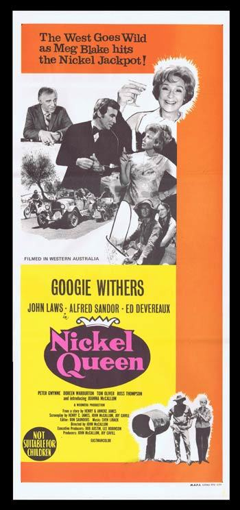 NICKEL QUEEN Daybill Movie Poster GOOGIE WITHERS John Laws
