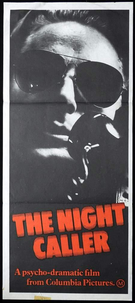 THE NIGHT CALLER Original Daybill Movie Poster