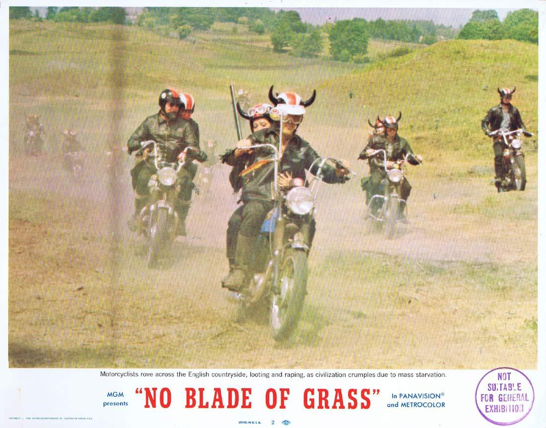 NO BLADE OF GRASS Lobby Card 2 Nigel Davenport Jean Wallace