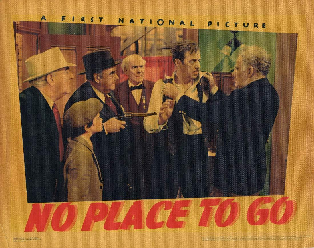 NO PLACE TO GO Lobby Card 2 Dennis Morgan Gloria Dickson Fred Stone 1939