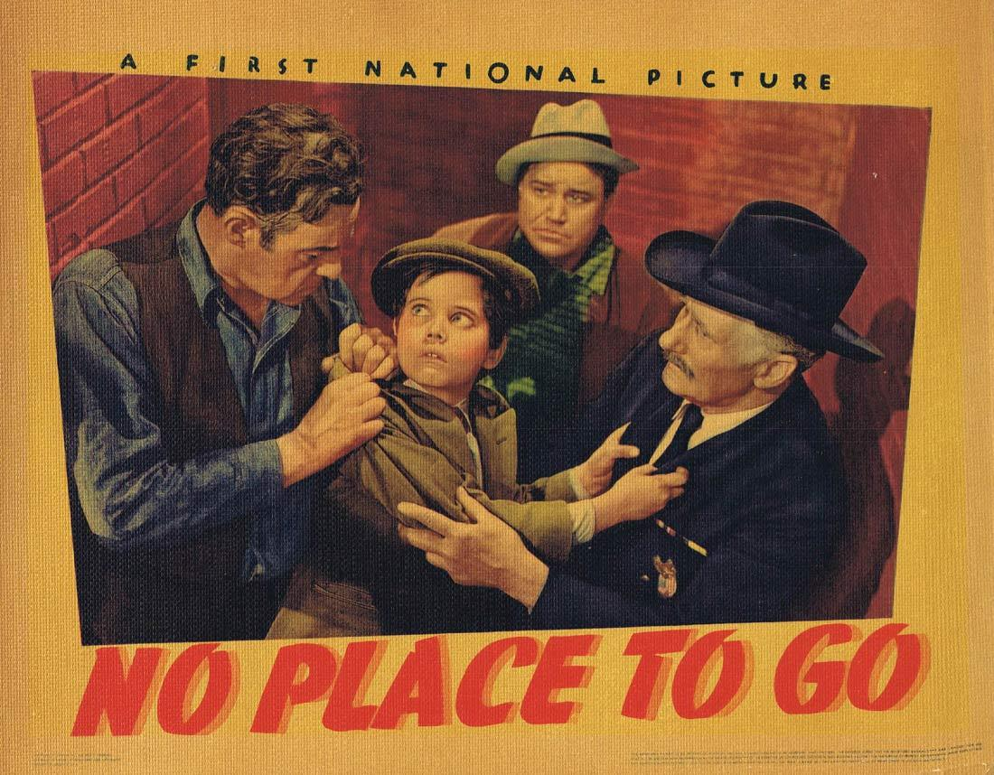 NO PLACE TO GO Lobby Card 5 Dennis Morgan Gloria Dickson Fred Stone 1939