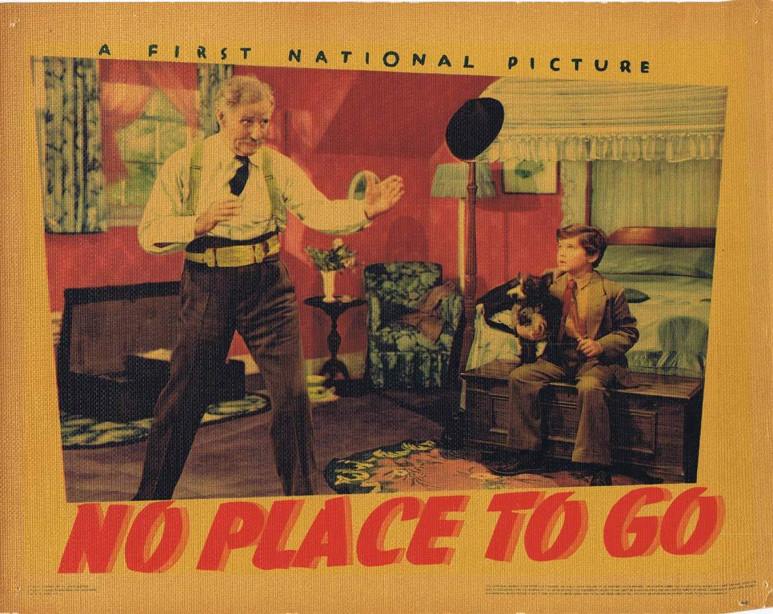 NO PLACE TO GO Lobby Card 7 Dennis Morgan Gloria Dickson Fred Stone 1939