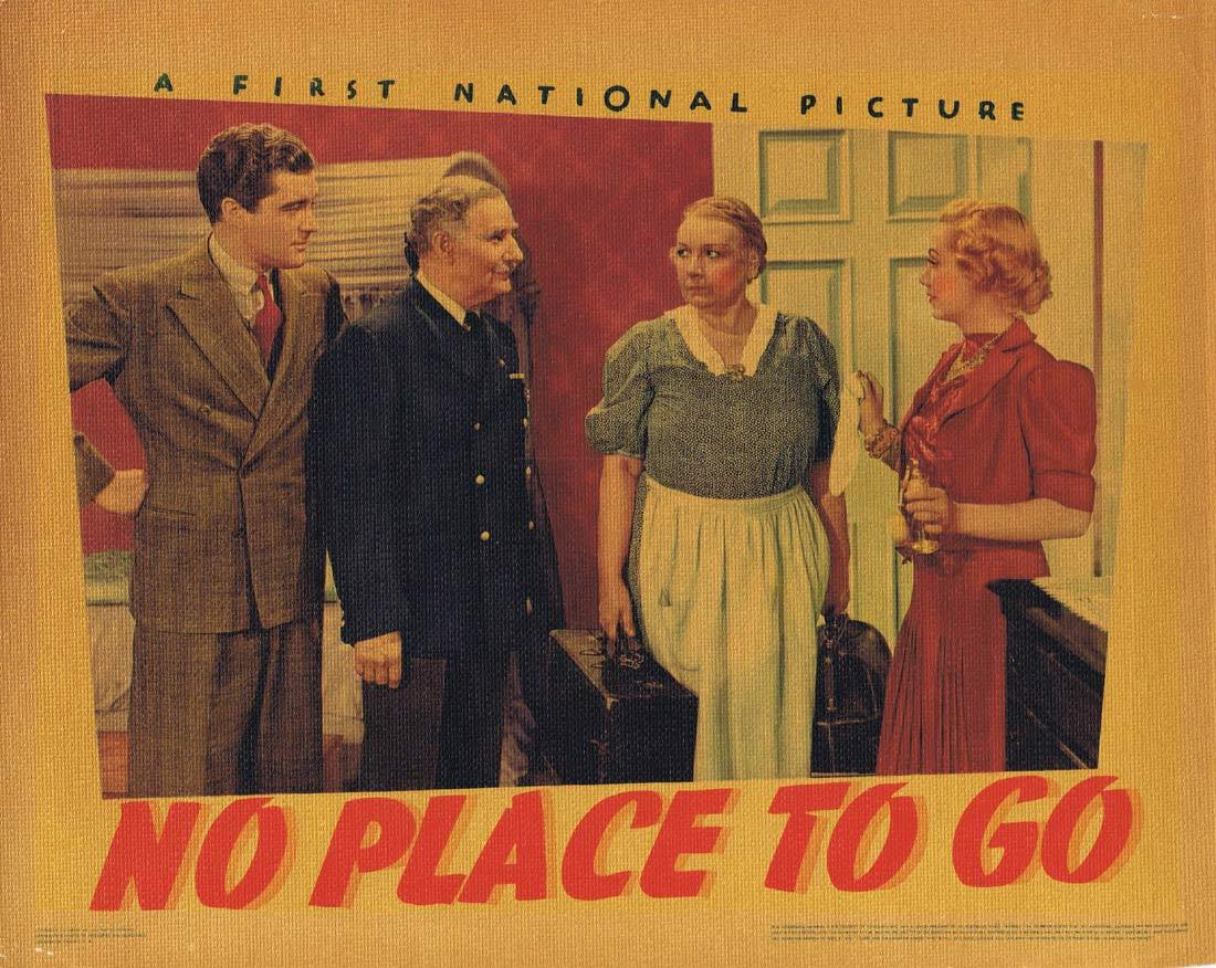 NO PLACE TO GO Lobby Card 8 Dennis Morgan Gloria Dickson Fred Stone 1939