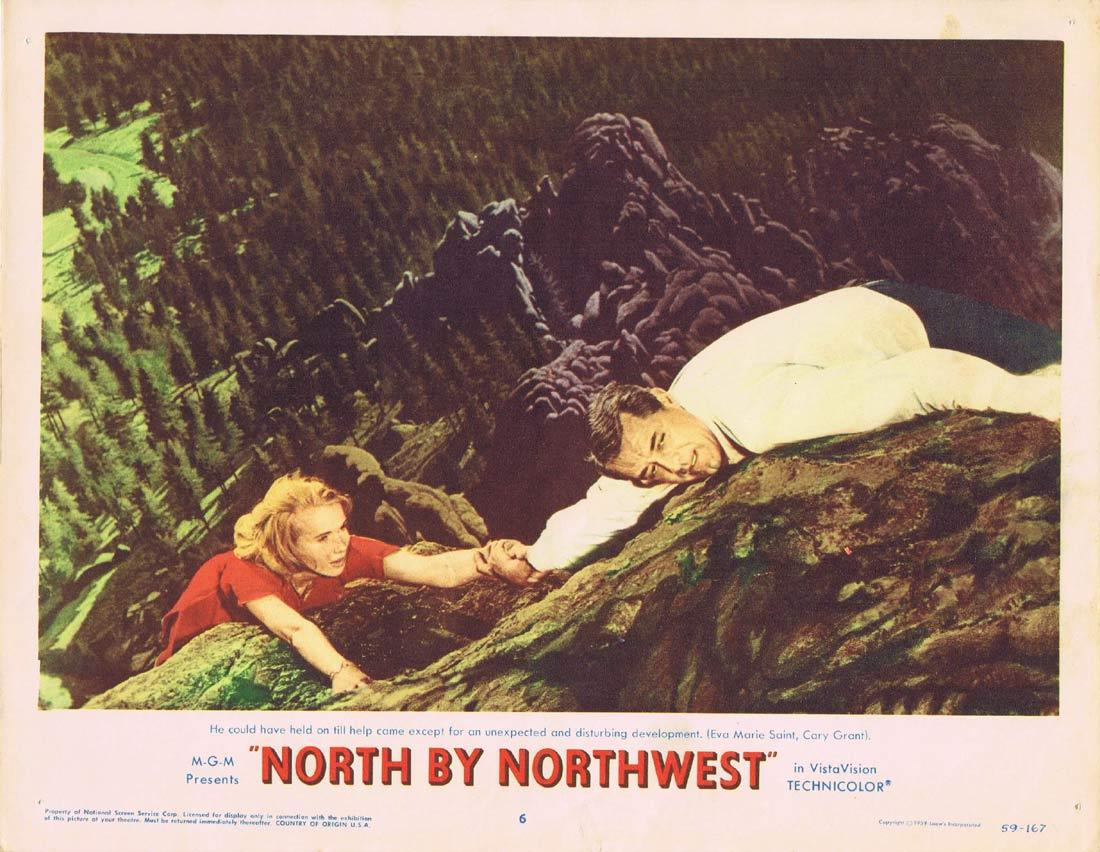NORTH BY NORTHWEST Lobby Card 6 1959 Alfred Hitchcock Cary Grant