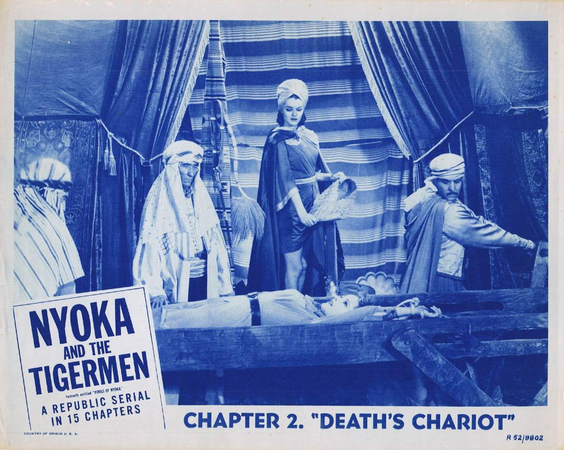 NYOKA AND THE TIGERMEN Original Lobby Card Columbia Serial 1952r