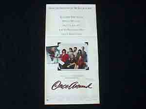 ONCE AROUND-Holly Hunter ORIGINAL poster