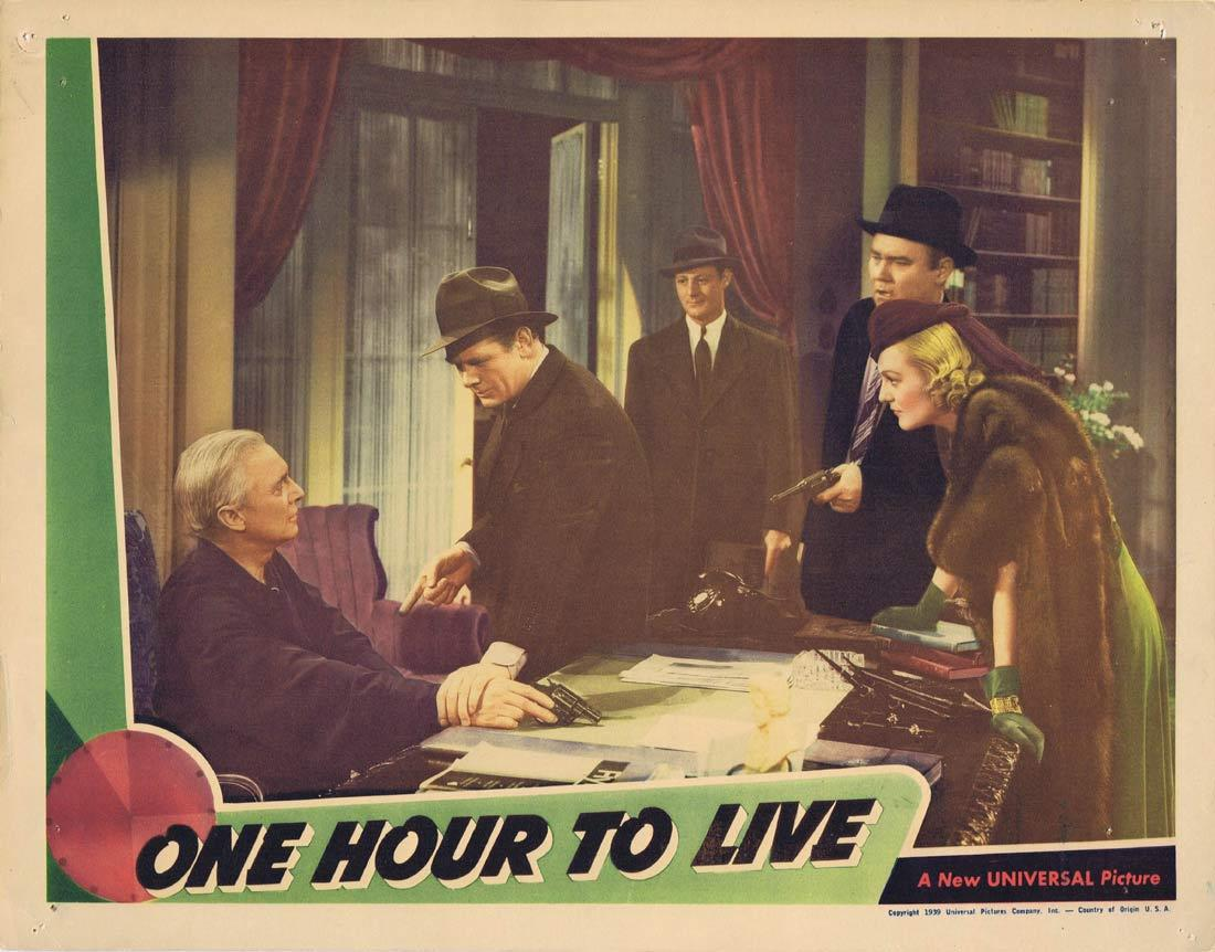 ONE HOUR TO LIVE Lobby Card Charles Bickford Doris Nolan John Litel 1939