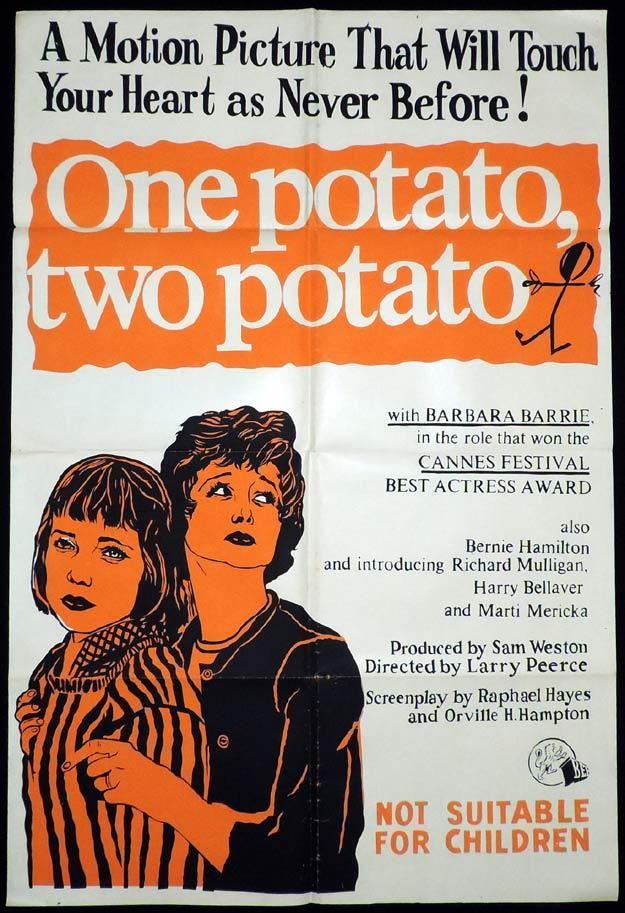 ONE POTATO TWO POTATO One Sheet Movie Poster Barbara Barrie