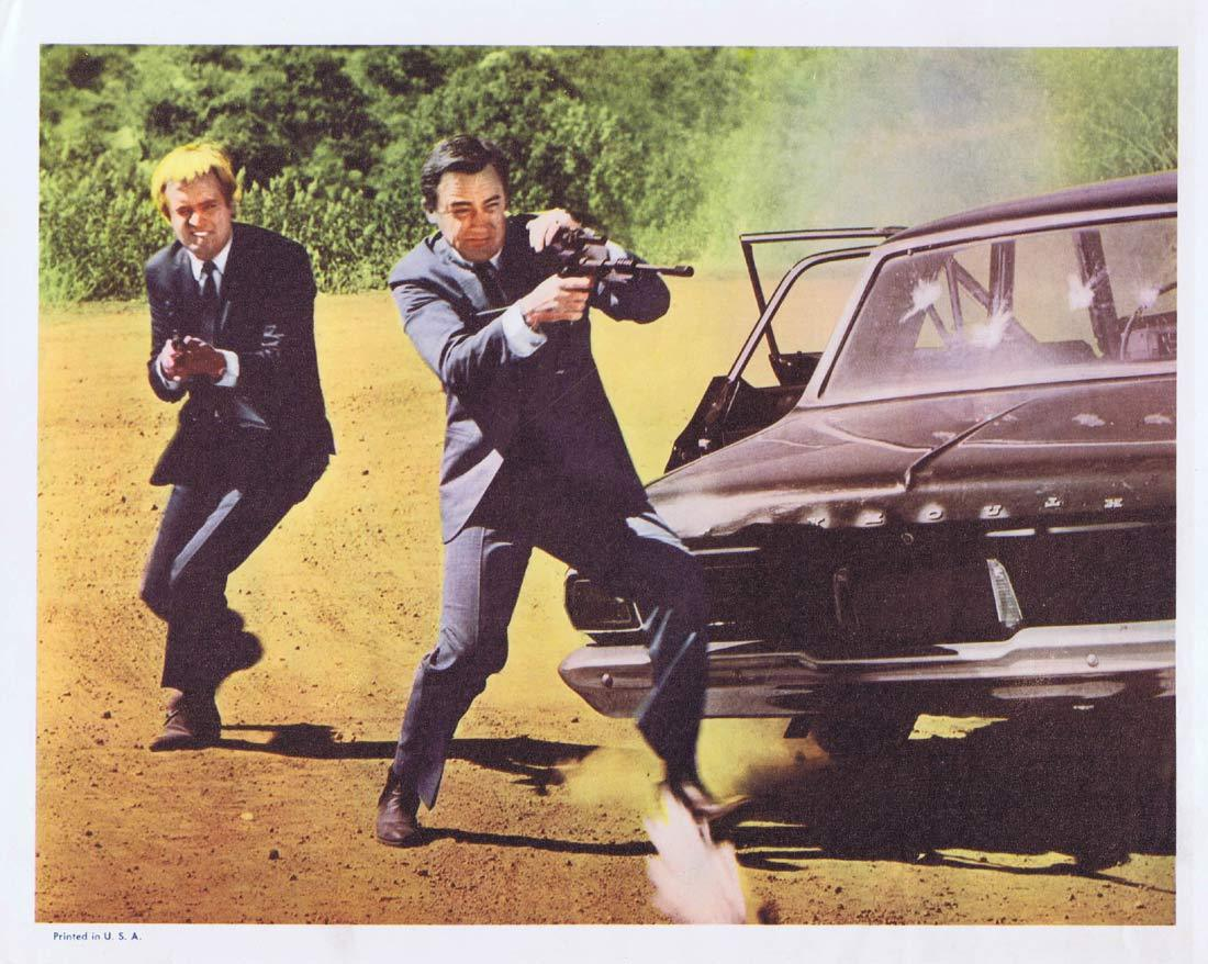 ONE SPY TOO MANY Original Lobby Card 4 Man from Uncle