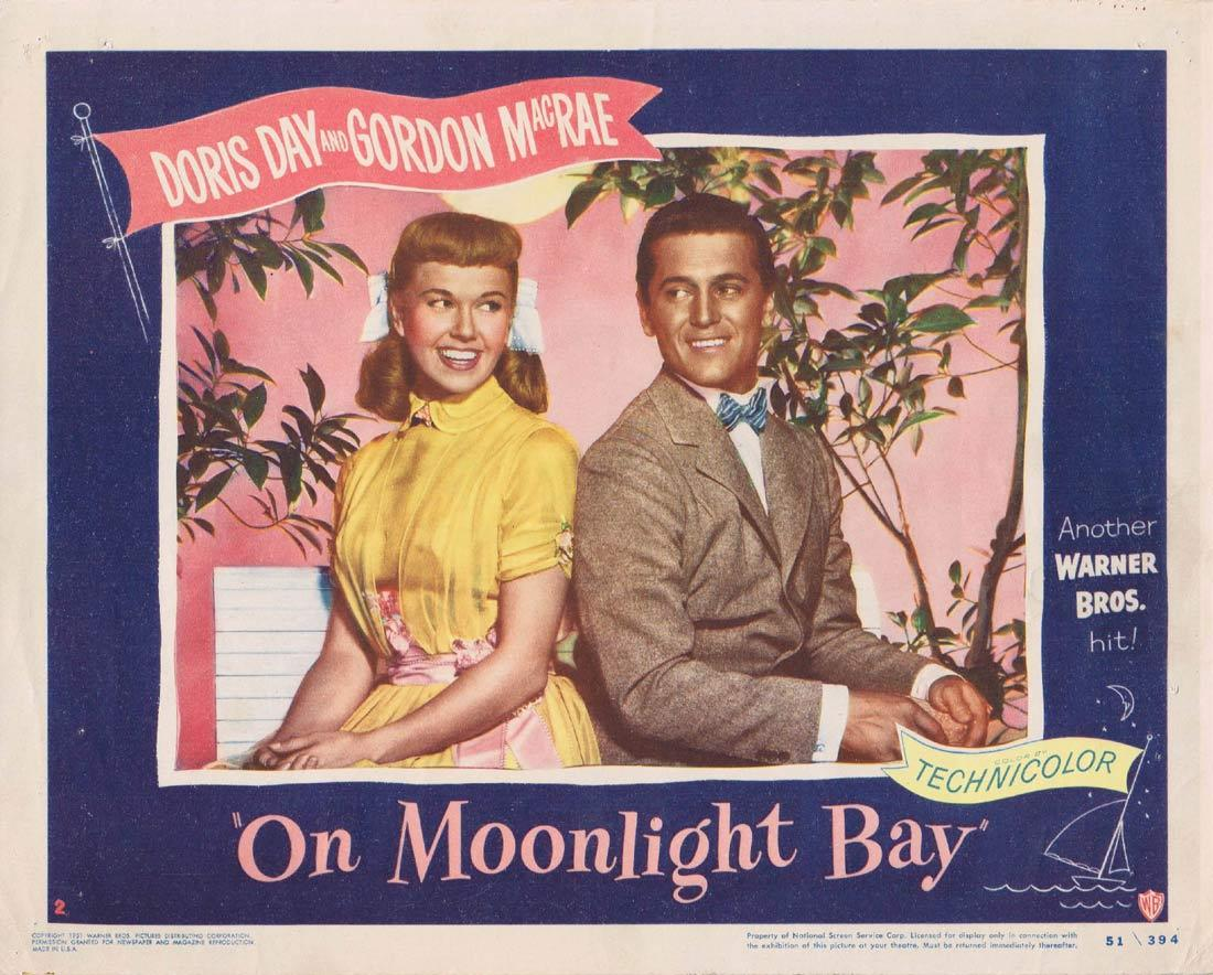 ON MOONLIGHT BAY Original Lobby Card 2 Doris Day Gordon MacRae Jack Smith