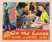 ON THE LOOSE Lobby Card 4 Joan Evans Lynn Bari Bad Girl