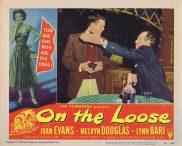ON THE LOOSE Lobby Card 7 Joan Evans Lynn Bari Bad Girl