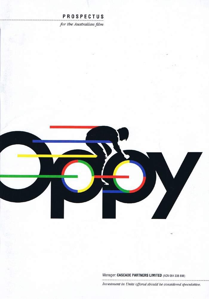 OPPY Original Australian Film PROSPECTUS Nadia Tass