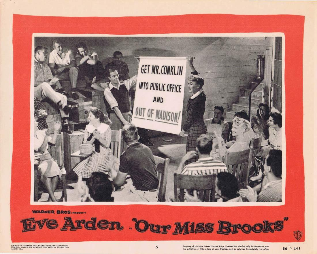 OUR MISS BROOKS Original Lobby Card Eve Arden