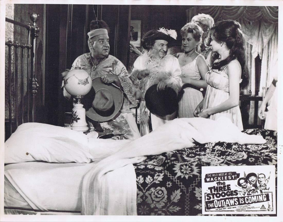 THE OUTLAWS IS COMING Australian Lobby Card 5 The Three Stooges