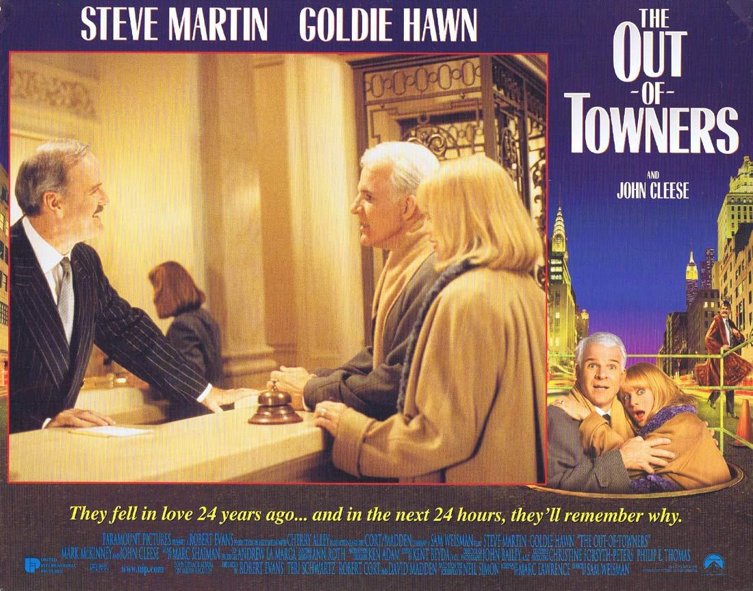 THE OUT OF TOWNERS Original Lobby Card 3 Steve Martin Goldie Hawn