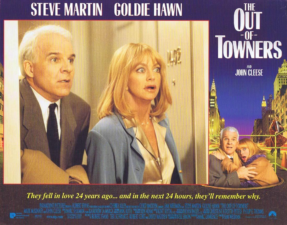 THE OUT OF TOWNERS Original Lobby Card 6 Steve Martin Goldie Hawn