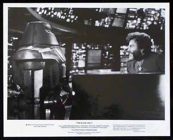 BLACK HOLE, The '79 Anthony Perkins SCI FI-Rare Movie Still #3