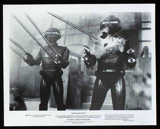 BLACK HOLE, The '79 Anthony Perkins SCI FI-Rare Movie Still #10