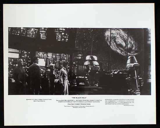 BLACK HOLE, The '79 Anthony Perkins SCI FI-Rare Movie Still #13