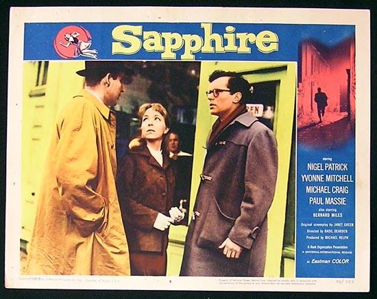 SAPPHIRE '59 Nigel Patrick Lobby Card #8