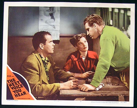 NEXT VOICE YOU HEAR, The '50 Nancy Davis Reagan Lobby Card #3
