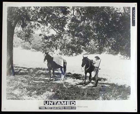UNTAMED '55 Susan Hayward Tyrone Power RARE Original Movie Still #1