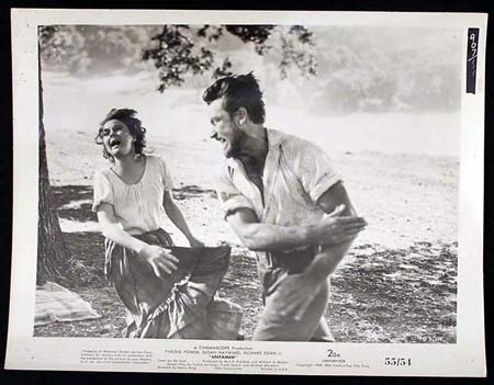 UNTAMED '55 Susan Hayward Tyrone Power RARE Original Movie Still #2