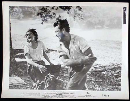 UNTAMED '55 Susan Hayward Tyrone Power RARE Original Movie Still #15