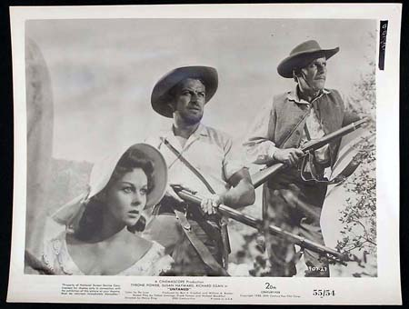 UNTAMED '55 Susan Hayward Tyrone Power RARE Original Movie Still #19