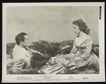 UNTAMED '55 Susan Hayward Tyrone Power RARE Original Movie Still #29