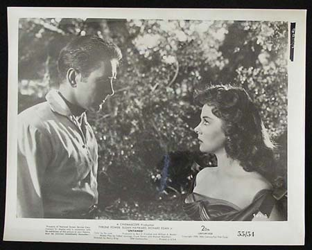 UNTAMED '55 Susan Hayward Tyrone Power RARE Original Movie Still #30