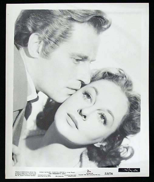 THE PRESIDENT'S LADY '53 Charlton Heston Susan Hayward RARE Original Movie Still #9