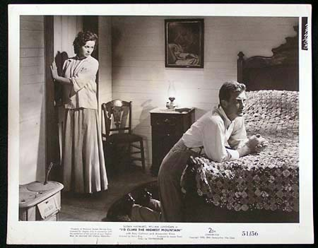 I'D CLIMB THE HIGHEST MOUNTAIN '51 Susan Hayward RARE Original Movie Still #1