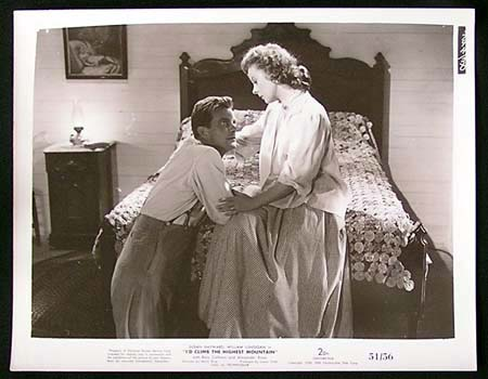 I'D CLIMB THE HIGHEST MOUNTAIN '51 Susan Hayward RARE Original Movie Still #7