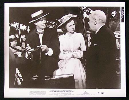 I'D CLIMB THE HIGHEST MOUNTAIN '51 Susan Hayward RARE Original Movie Still #10