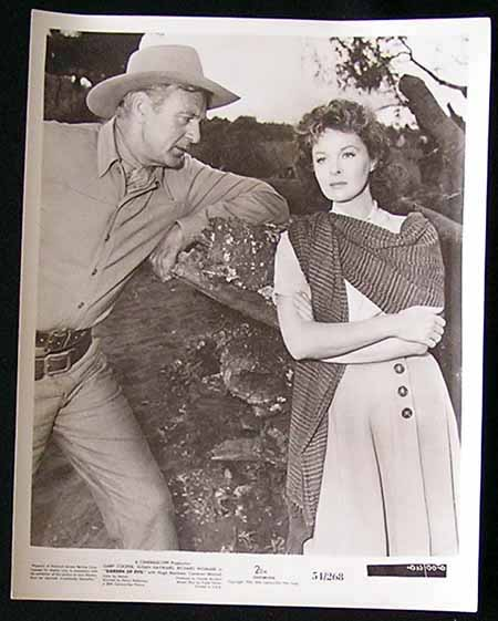 GARDEN OF EVIL '54 Gary Cooper Susan Hayward-Movie Still #7