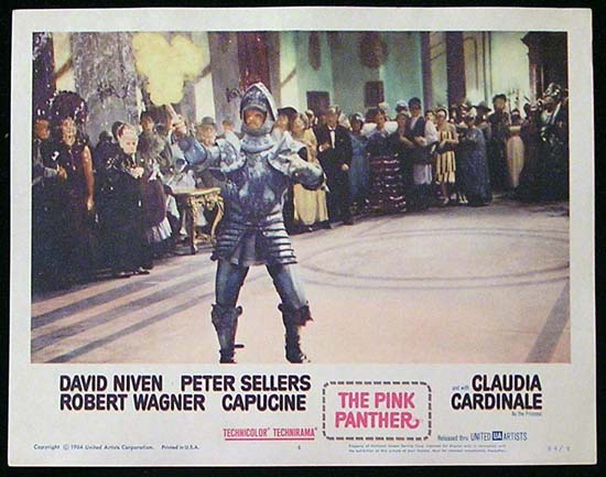 THE PINK PANTHER 1964 Peter Sellers Lobby Card 4